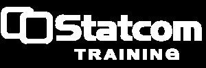 Statcom Training Logo WHITE
